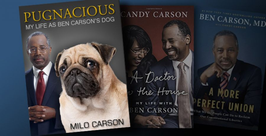 Ben Carson's Dog Releases Book