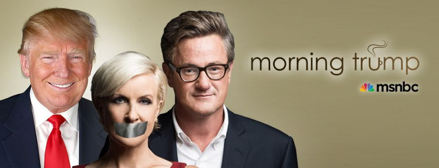 MSNBC's 'Morning Joe' to be Rebranded as 'Morning Trump'