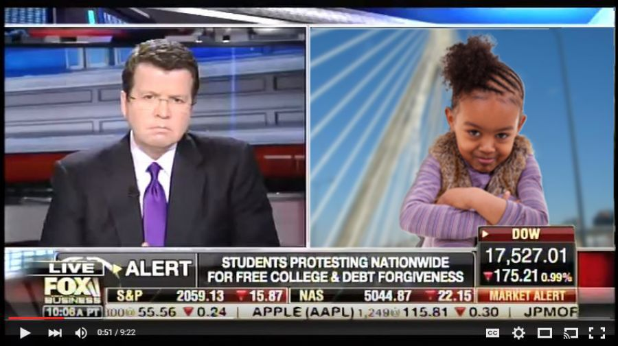 Conservatives Celebrate Victory After Neil Cavuto Trounces Toddler in On-air Debate