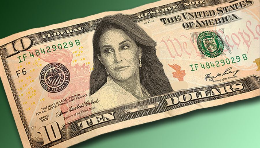 US Mint Announces Caitlyn Jenner Will Be Featured on New $10 Bill